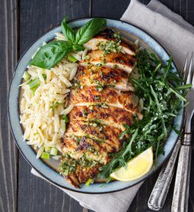 Basil & Lemon Grilled Chicken