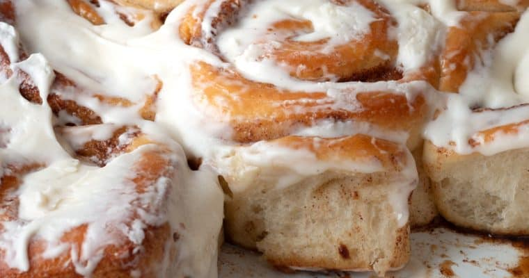 Soft and Pillowy Cinnamon Rolls