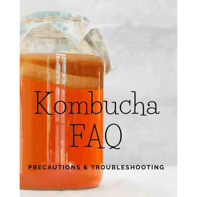Kombucha FAQ – Precautions & Troubleshooting