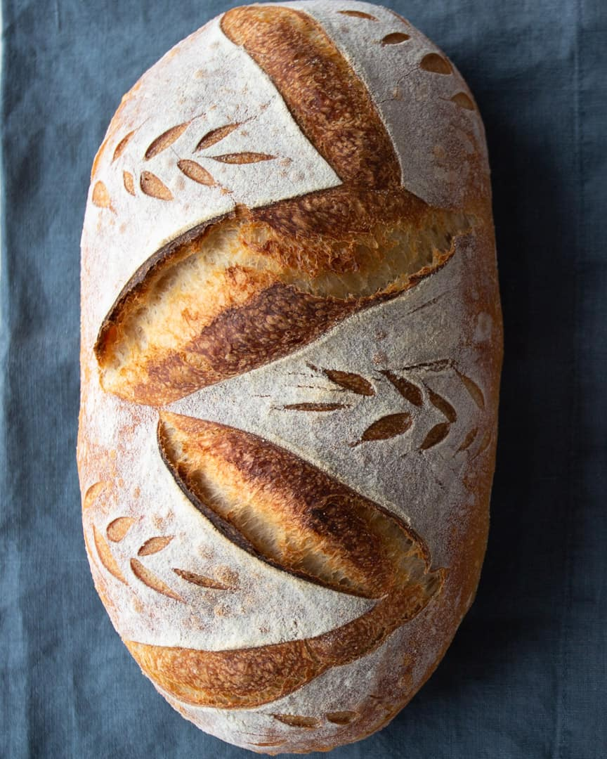 Sourdough: How To Shape Batard For Great Oven Spring