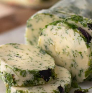 Easy Herb Compound Butter For Vegetables, Meat, Seafood, and Pasta.