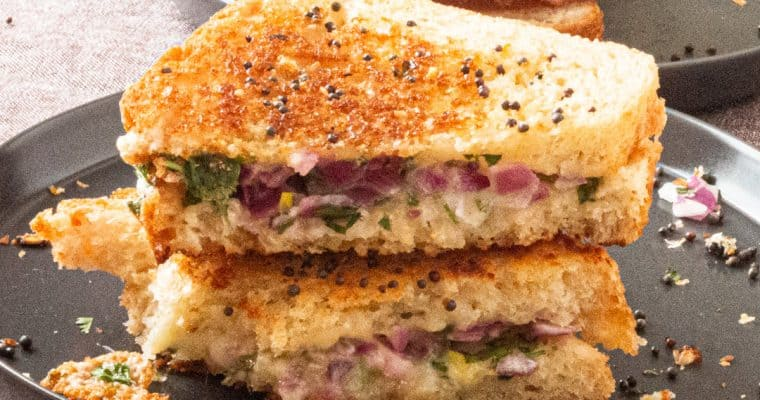 Dahi Toast – The Ultimate Grilled Cheese