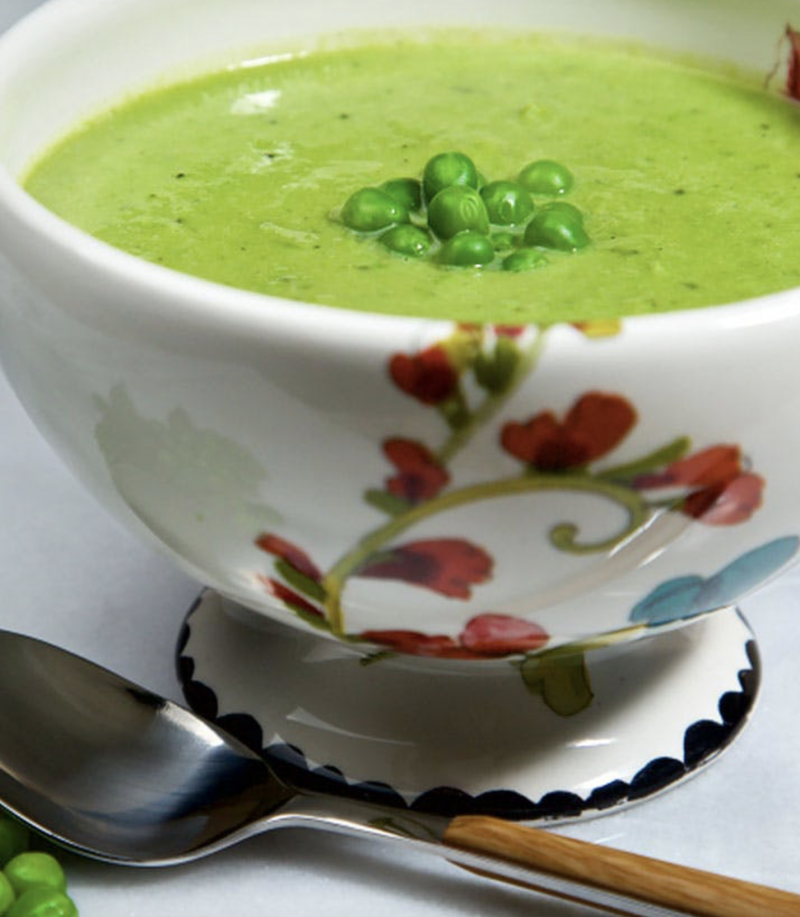 Fresh Pea Soup – By Barefoot Contessa's Ina Garten