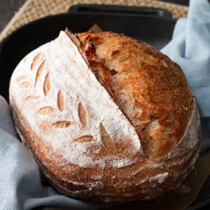 Sourdough bread: how to coil fold, stretch & fold, stretch & wrap