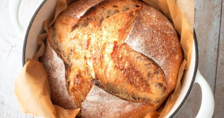 Sourdough: How To Shape Round Boule For Great Oven Spring