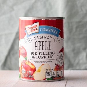 Duncan Hines Simple Apple Pie Filling and Topping