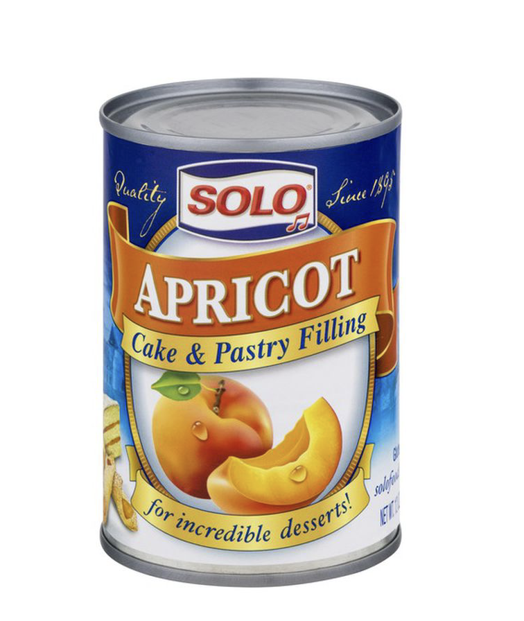 A can of Solo Cake and Pastry Filling